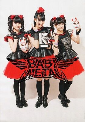 BABYMETAL Ijime, Dame, Zettai PHOTO Print POSTER Live Budokan London Shirt CD 02