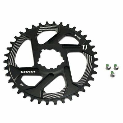 SRAM X-Sync Direct Mount 38T Chainring 6mm Offset For GXP BB30/PF30