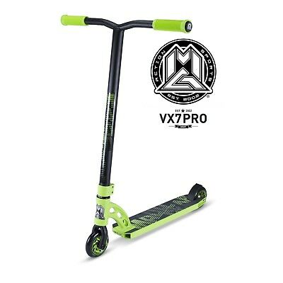 New 2017 Madd Gear Mgp Vx7 Pro Complete Kids Scooter Green - Free Shipping