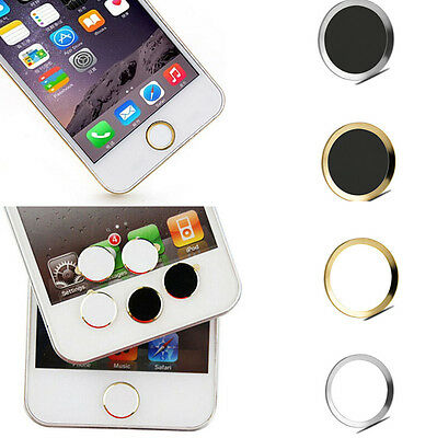 Aluminium Home Button Sticker Metal For Apple iPhone 6S 5S 5C 4S iPod Touch iPad