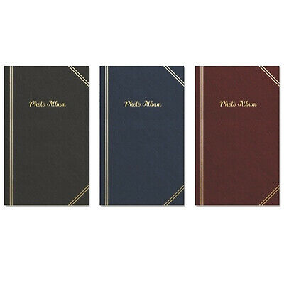 "Tallon 6"" X 4"" Plain Photo Album With 300 Pockets - 011264 (Assorted Colours)"