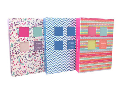 "Tallo 5"" X 7"" Designer Photo Album With 200 Pockets - 011318"
