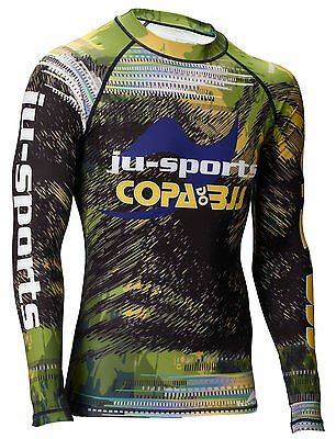 "Ju-Sports Limited Edition Rash Guard ""Copa do BJJ"", RashGuard, No-Gi"
