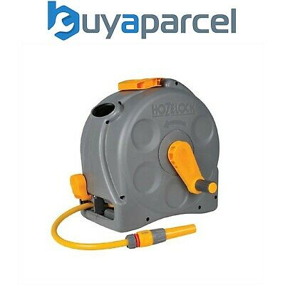 Hozelock 2415 2-in-1 Compact Hose Reel 25m and 25m of 11.5mm Hose