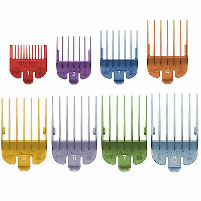 Wahl Combs fit all models inc. Super Taper. Different Colours & Sizes