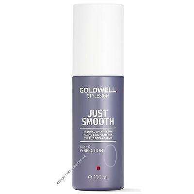Sleek Protection Straight Style Spray 100ml by Goldwell Use w/ Straightener