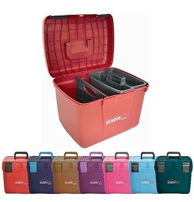 Stable Kit Grooming Box / Step On Box Horses/Dogs Stablekit 7 colours +World P&P