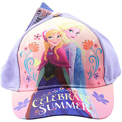 Disney Frozen Celebrate Sun Sunny Beach Outdoor Summer Baseball Children Cap Hat