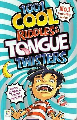 1001 Cool Riddles & Tongue Twisters by Glen Singleton Paperback Book Free Shippi