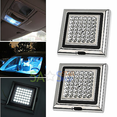 2X Bright White 42LED Car Van Truck Vehicle Roof Dome Interior Light Lamp 12V 5W