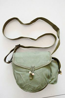 Military Surplus Chinese Drum Haversack Magazine Pouch Messenger Bag Army