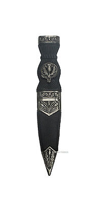 Antique Thistle Safety Sgian Dubh Dummy With Thistle Design