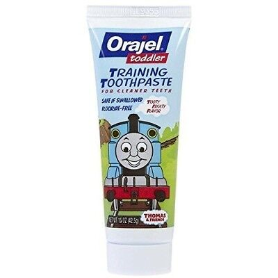 Orajel Toddler Training Toothpaste Tooty Fruity Flavor - 1.5 oz