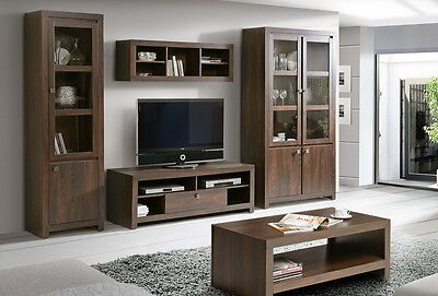 cordoba tv wohnwand wohnkombi schrankwand massivholz. Black Bedroom Furniture Sets. Home Design Ideas
