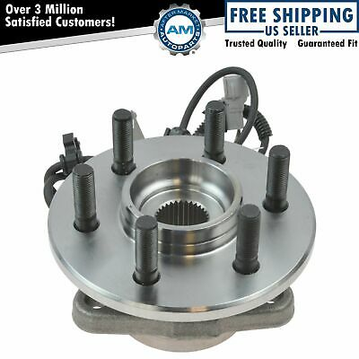 Front Hub & Bearing Passenger Side Right RH for Dodge 4x4 4WD w/ 4 Wheel ABS