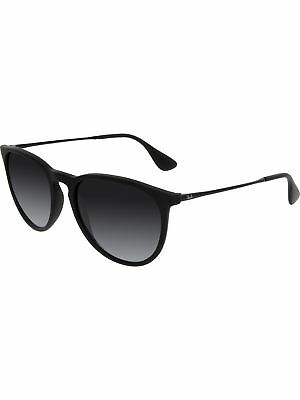 Ray-Ban Women's Gradient Erika RB4171-622/8G-54 Black Round Sunglasses