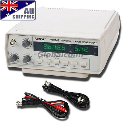 AU VC2002 Function VICTOR Signal (0.2 Hz ~ 2 MHz) Generator 5 Digits 7 Frequency
