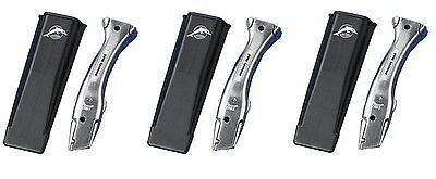 3 x Original Delphin Dolphin Knife Handle & Holster Carpet Fitters Knives Holder