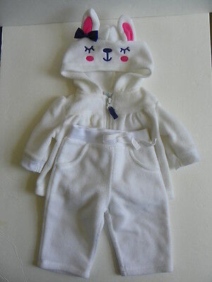 Baby Girl Hoodie Set Size 3-6 Months
