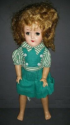 Ideal Doll P-91 Red hair. 1950's