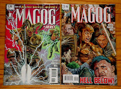 MAGOG #1 & 2 DC Comics 2009 VF/NM by Giffen, Porter & Dell