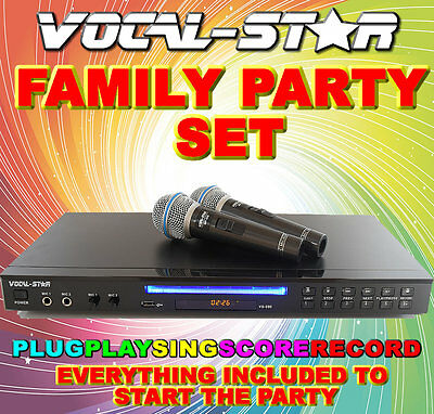 Vs-600 Vocal-Star Karaoke Machine - Choose Your Own Package