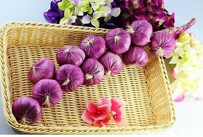 faux fruit 1 artificial string garlic fake food house kitchen party office decor