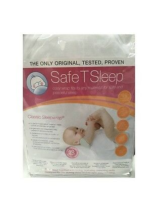 Brand NEW Safe T Sleep Sleepwrap Classic Baby Safety Sleep Positioner