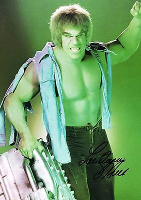Lou Ferrigno 01S (The Incredible Hulk) Photo Print