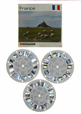 Viewmaster - France -  3 disques - complet  - C2301- 2302 - 2303 - GAF-3D