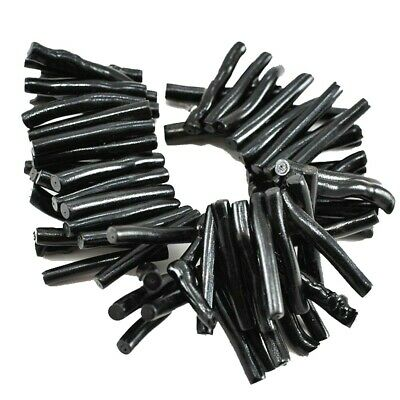 """40x5mm Natural Black Coral Branch Beads 7"""" (CO231)b for DIY Jewelry Designer"""