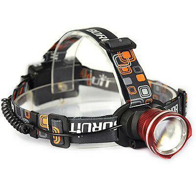 Outdoor 5000LM XML T6 LED Camping AA Zoomable Headlamp Headlight Head Torch Lamp