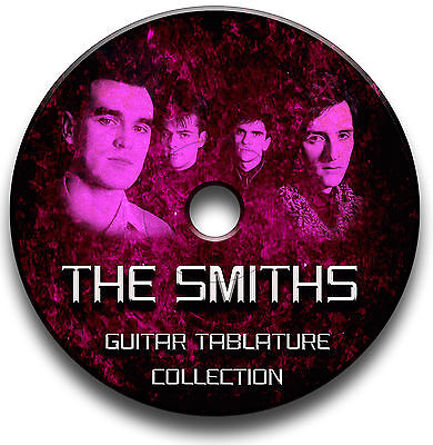 The Smiths Rock Guitar Tabs Tablature Song Book Software Cd