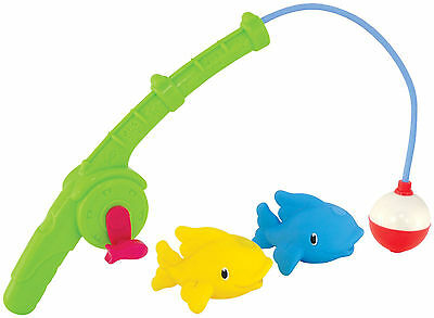 Munchkin GONE FISHIN' BATH TOY Baby/Toddler/Kids Bathing Bath Time Toy/Gift BN