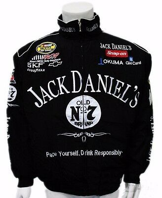 Jack Daniels Jacket Men Motorbike Motorcycle Racing Biker Motors Car Chopper New