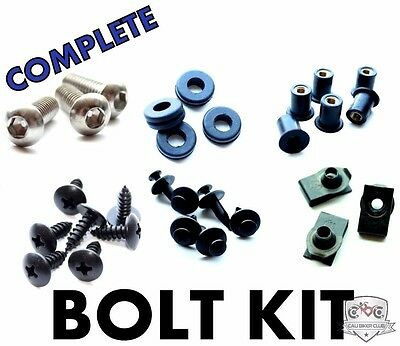 Complete Stainless Fairing Bolt Kit Body Screws for Honda CBR929RR 2000-2001
