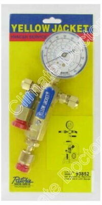 Yellow Jacket 93852 SuperEvac Evacuation Manifold