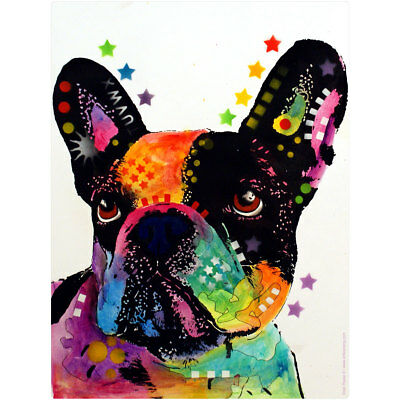 French Bulldog Dean Russo Pop Art Wall Decal 12 in. Removable Wall Art