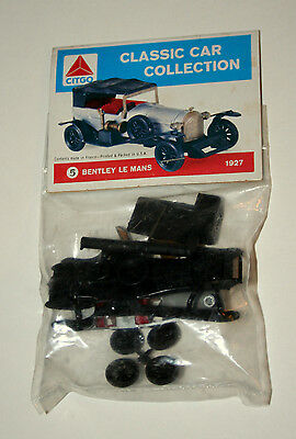 Citgo Oil & Gas #5 Bentley Le Mans Plastic Model Kit Car Premium 60s NOS New MIP