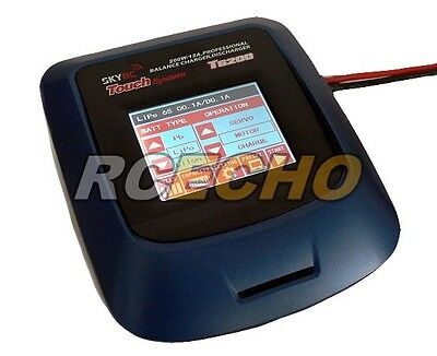 SKYRC Touch System T6200 200W 12A Professional Balance Charger/ Discharger BC475