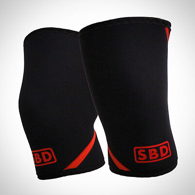 SBD - Knee Sleeves (Pair) Powerlifting Knee Support