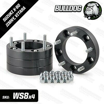 30mm Bulldog Wheel Spacers Set of 4 to fit Suzuki Jimny, Vitara & X-90