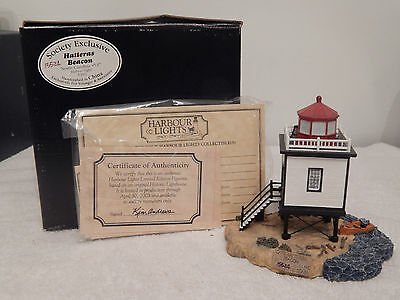 HARBOUR LIGHTS - HATTERAS BEACON # 537 - NEW IN THE BOX