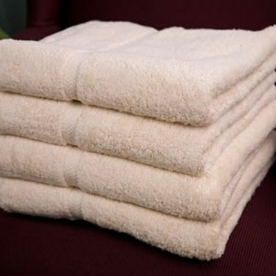 3 pack white premium 100/% cotton hotel bath towel plush 27x50 14# dozen pegasus