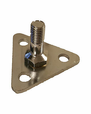 All Sizes Fit Commercial Adjustable Foot Plate For Wired Shelving - Set of 4