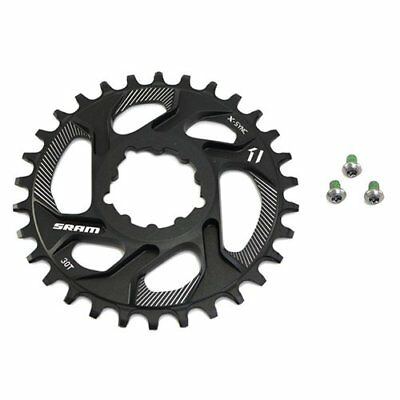 SRAM X-Sync Direct Mount 30T Chainring 6mm Offset For GXP BB30/PF30