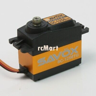 SAVOX High Torque Titanium Gear Digital Servo 1:10 Car Crawler Drift #SC-1256TG