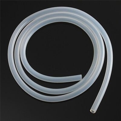 1M Clear Food Grade Flexible Hose Silicone Tubing Tube Pipe -60℃-280℃ 1*3-8*10mm