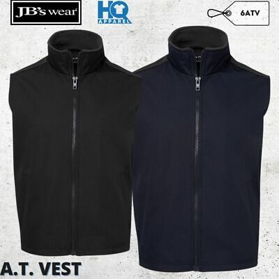 Mens Oxford Waterproof A.T. Vest Full Zip Sleeveless S M L XL 2XL 3XL 4XL 5XL