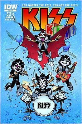 KISS KIDS #1 1st print IDW COMIC band GENE SIMMONS ACE FREHLEY PETER CRISS 2013